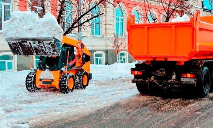 Механизированная уборка снега в Самаре